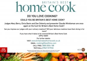 Could you be Britian's Best Home Cook?