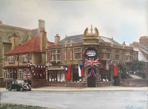 VE Day at Home - In Kettering
